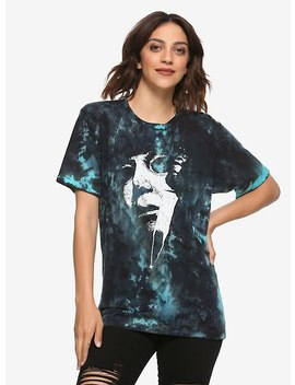 Halloween Slashed Tie Dye Girls T Shirt by Hot Topic