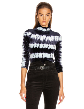 Tie Dye Turtleneck Top by Proenza Schouler
