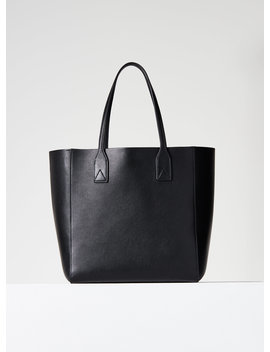 Leather Carry All Tote by Auxiliary