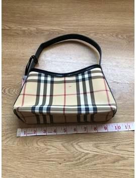 Burberry Check Handbag Vitnage 90s by Etsy