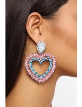 Sing Me Love Songs Earrings   Rose by Fashion Nova