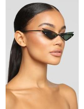 Over The Rainbow Sunglasses   Black by Fashion Nova