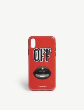 Lips Motif Phone Case by Off White C/O Virgil Abloh