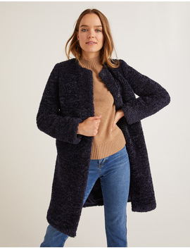 Ranfurly Coat   Navy by Boden