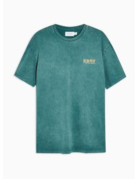 Teal Budapest T Shirt by Topman