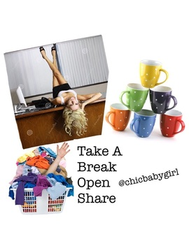 ☕️the Take A Break Open Share Sign Up ☕️ by Poshmark