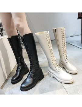 Wello   Lace Up Tall Boots by Wello