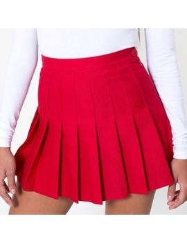 American Apparel Red Tennis Skirt by American Apparel