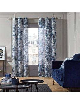 Eyelet Semi Sheer Single Curtain by Madura
