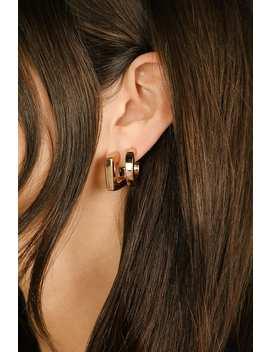 Bold Love Gold Hoop Earring Set by Lulus
