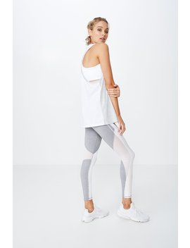 Racer Sports Tank Top by Cotton On