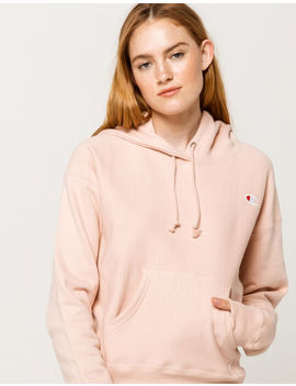 Champion Reverse Weave Blush Womens Hoodie by Champion