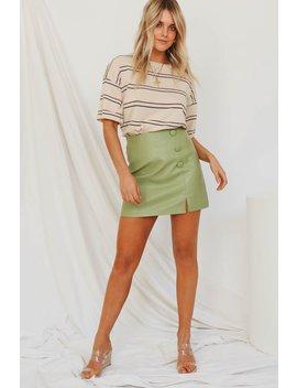 Artists Groove Mini Skirt // Olive by Vergegirl