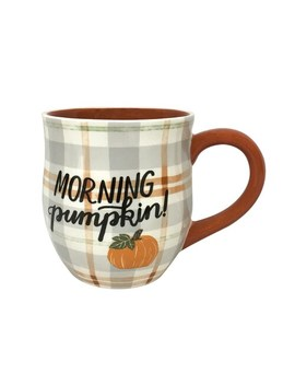 Celebrate Fall Together Morning Pumpkin Mug by Celebrate Fall Together