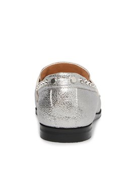 Ample Silver Leather by Steve Madden