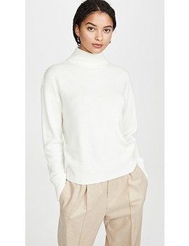 Whipstich Cashmere Turtleneck by Theory