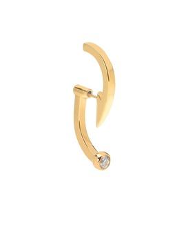 Hooked Single Earring by Alan Crocetti