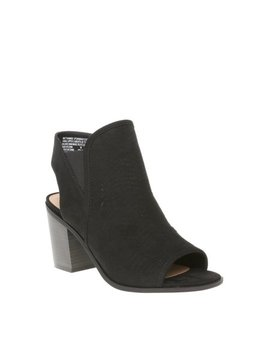 Womens Time And Tru Peep Toe Ww by Time And Tru