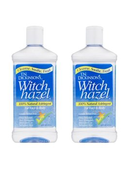 (2 Pack) Dickinson's Witch Hazel Cleansing Astringent, 16 Fl Oz by Tn Dickinsons