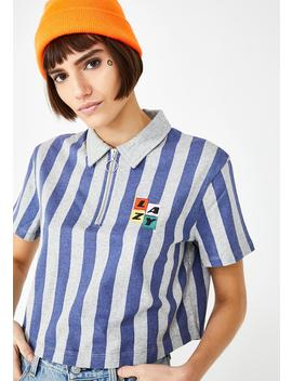Warm Up Crop Shirt by Lazy Oaf