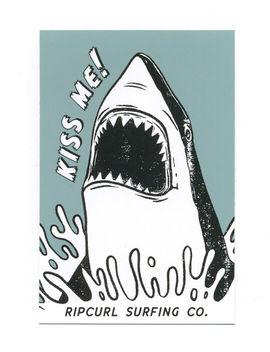 Rip Curl Shark Kiss Sticker by Rip Curl