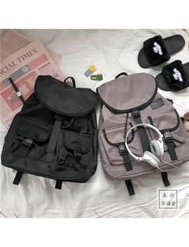 Chestnut Party   Buckled Backpack by Chestnut Party