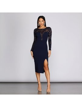 Lissi Formal Lace And Sequin Dress by Windsor