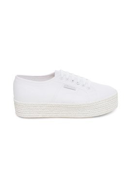 2790 Cotcoloropew White Fabric by Superga