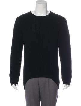 Sphinx Wool Sweater by Rick Owens