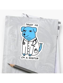 Dogtor Sticker by Obinsun