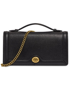 Riley Leather Chain Clutch by General