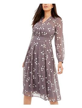 Pleated Blouson Dress by General