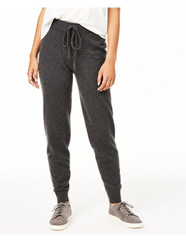 Cashmere Jogger Pants, Created For Macy's by General