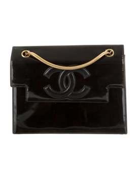 Vintage Patent Cc Flap Shoulder Bag by Chanel