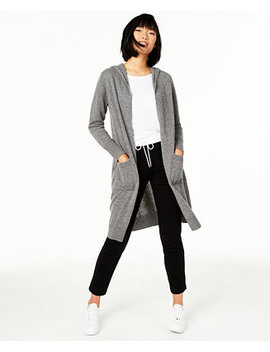 Cashmere Hooded Duster Sweater, Created For Macy's by General