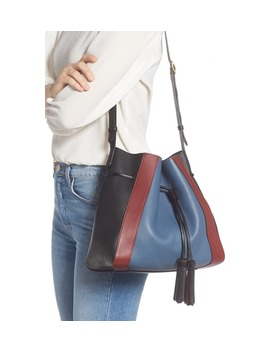 Small Millie Leather Tote by Mulberry