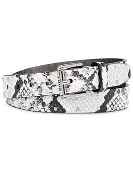 Studded Snake Embossed Belt by General