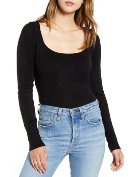Long Sleeve Sweater Bodysuit by Leith