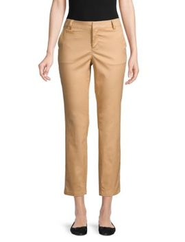 High Rise Slim Pants by Saks Fifth Avenue