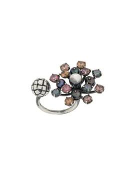 Cluster Crystal Ring by Bottega Veneta