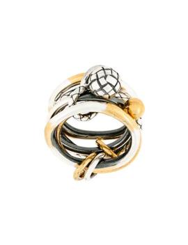Engraved Ring by Bottega Veneta