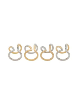 Double Band Ring by Maison Margiela