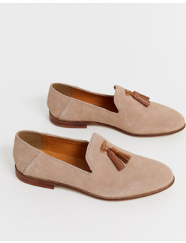 Kg By Kurt Geiger Loafers In Pink Suede With Contrast Tassel Detail by Kg Kurt Geiger