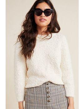 Valerie Eyelash Sweater by Anthropologie