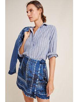 Hattie Bandana Mini Wrap Skirt by Greylin