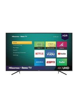 "Hisense 75"" Class 4 K Ultra Hd ( 2160 P) Roku Smart Led Tv (75 R6 E1) by Hisense"