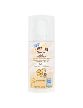 Hawaiian Tropic Silk Hydration Weightless Face Sunscreen   Spf 30   1.7oz by Spf 30
