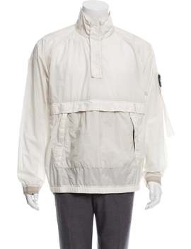 Resin Poplin Tc Lightweight Jacket W/ Tags by Stone Island
