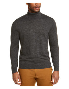 Men's Merino Turtleneck, Created For Macy's by General