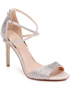 Dillon Crystal Embellished Sandal by Jewel Badgley Mischka